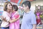 謝典霖、李燕夫婦 幫林文華妻打氣
