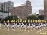 竹女校友捐款90萬 樂儀隊換新裝