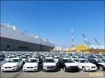 2514輛豪華進口車 同抵台中港刷新紀錄
