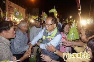 場地申請屢受阻 游錫堃決定照辦選前之夜