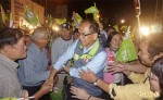游錫堃 抗議被打壓