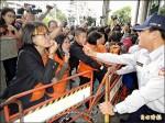國道收費員抗爭爆衝突 血濺交部