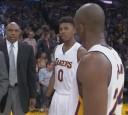 NBA》布萊恩發飆 場邊怒譙豪小子:給我閃邊去