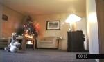 耶誕樹燈起火 客廳1分鐘燒光