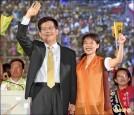 強龍對決/林高呼 「新台中新市長」