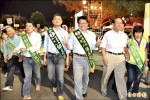 屏東選前之夜 藍綠同步 千人踩街