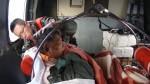 我國船員基隆外海受傷 海鷗直升機出動救援