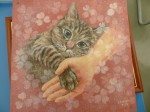 貓迷《喵見幸福》畫展 即日起明新科大登場