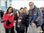 兒童新樂園開幕 6600人冒寒體驗
