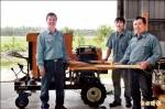 碎木機助整地 賣到吐瓦魯去