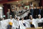 實驗性養殖魚塭收成 台江國家公園贈虱目魚產給13校