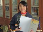 全國語文競賽 吳曼菁連兩年得第一