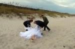 騎馬拍婚紗超浪漫? 這位新娘表示…