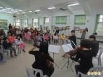台灣中提琴室內樂團 古坑四小校傳播音樂