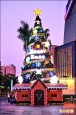 薑餅屋耶誕樹 定時「下雪」