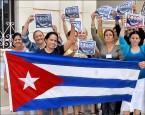 古巴人 有歡欣有反對