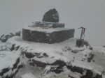 玉山昨成銀白世界 明天也有機會降雪