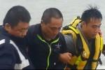 兩棲蛙人底子 通緝犯游300公尺出海對峙