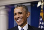 最糟的一年?歐巴馬年終記者會感覺良好