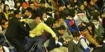 馬英九出席北商大校慶 學生突陳情被架離