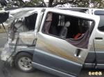 中山高南下豐原路段7車連環撞 釀2死7傷
