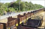 鐵道迷騎鐵馬追糖鐵會高鐵 三鐵交會