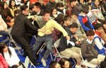 《TAIPEI TIMES 焦點》 Student dragged away after demanding Ma's help