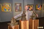 激出藝術火花 特教生、雕塑家聯合展出