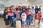 認養人招待200位家扶兒 吃大餐、送耶誕禮