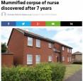 英護士自殺無人知 遺體放7年成乾屍