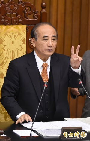 黨代表拱王金平選總統 王院長反給軟釘子碰
