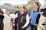 王郝下台中 為老戰友蕭家淇站台