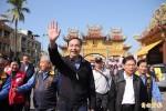 東港輔選 朱立倫:台灣走向非核家園已是確定方案