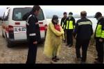 千鈞一髮! 警民聯手救援尋短婦人