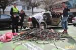 警演練「巧遇」電纜竊嫌 滑進汽車旅館被逮