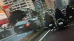 惡劣男闖紅燈撞2騎士 飆速落跑因車子拋錨被逮
