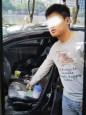 車內吸毒打翻撒衣沾臉 警方眼尖查獲