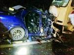蘇花公路2車對撞 4阿兵哥傷
