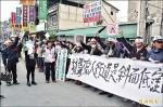 人行道恐影響排水 商家抗議