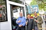 世界無車日發起人 體驗台南公車