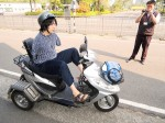 《TAIPEI TIMES 焦點》 Armless woman continues quest for scooter license