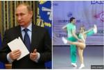 舞蹈大賽高手 疑是俄總統女兒