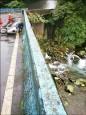 騎士墜8公尺溪谷 神秘司機救命