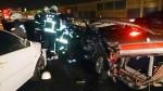 國道一號小客車撞到全毀 1傷1命危