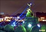 台北燈節金喜羊 今晚點燈