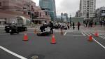 北市信義路發生公車撞機車事故 騎士傷重身亡