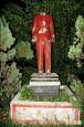 基隆獅球公園蔣銅像 身首異處