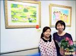 兒童畫作義賣 人如其畫好可愛