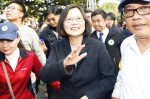 《TAIPEI TIMES 焦點》 Tsai touts 'free and democratic' Taiwan