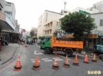 馬公建國路道路縮減工程 引發商家抗議